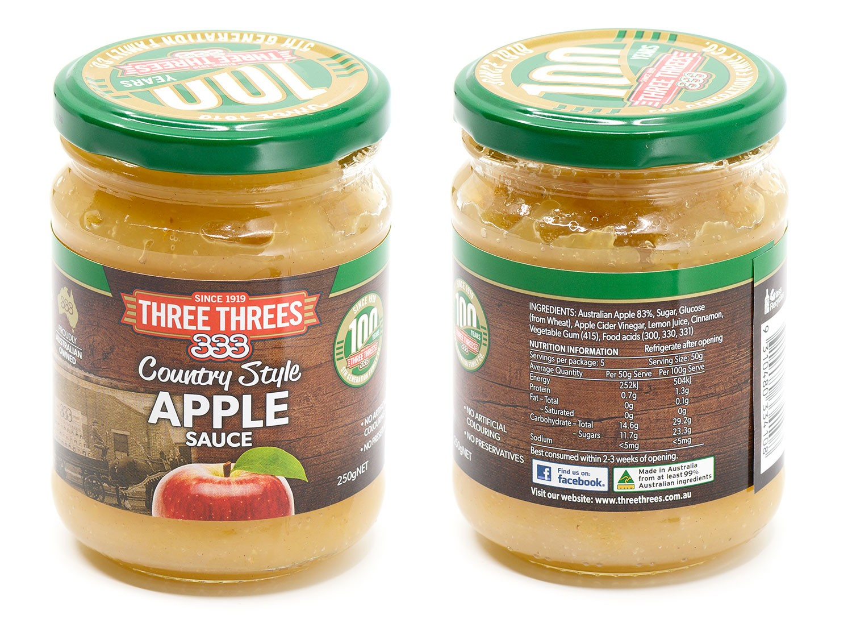Apple Sauces