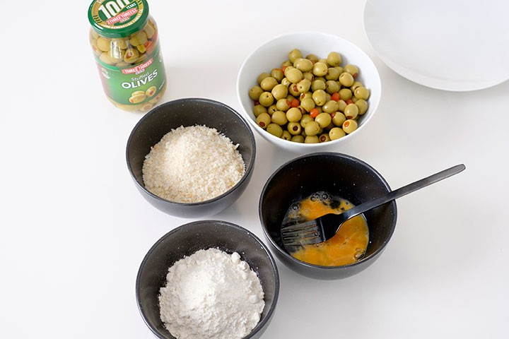 Crumbed Olives