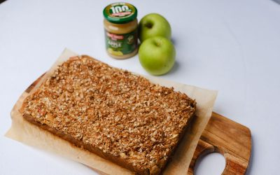 Gluten Free Apple Crumble Blondie