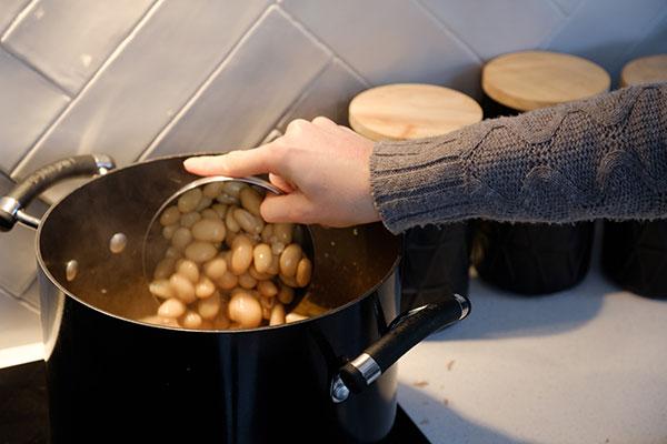 Adding-butter-beans