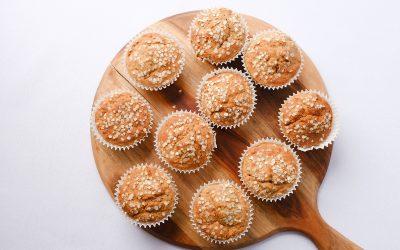 333's Apple Sauce Muffin