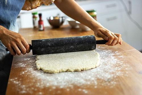 Roll-dough